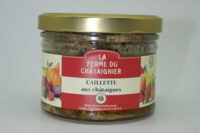 Caillette aux châtaignes 380g