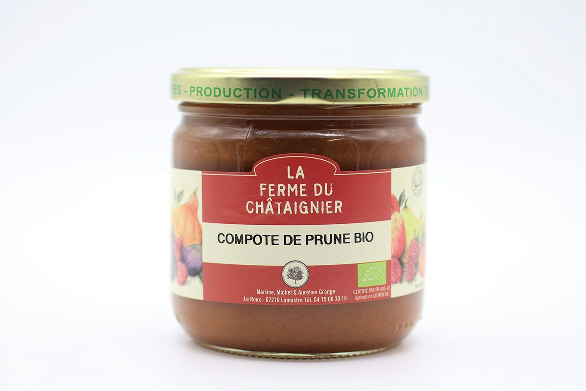 Compote de prune