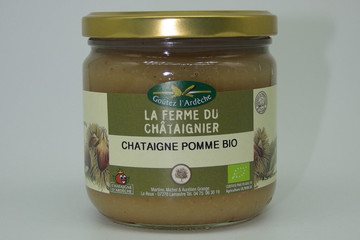 Crème de châtaigne et pomme Bio